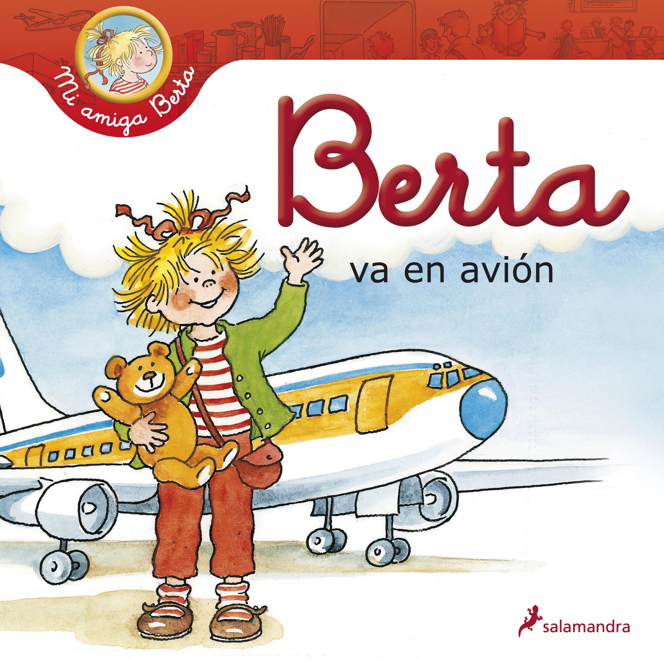 Berta va en avión