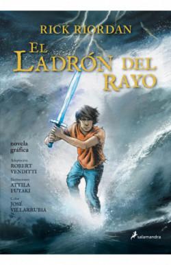 El ladrón del rayo (Percy Jackson y los dioses del Olimpo novela gráfica 1)