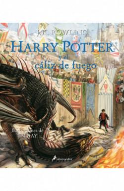 Harry Potter y el cáliz de fuego (Harry Potter edición ilustrada 4)