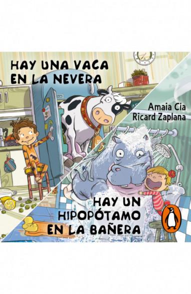 Hay una vaca en la nevera y Hay un hipopótamo en la bañera