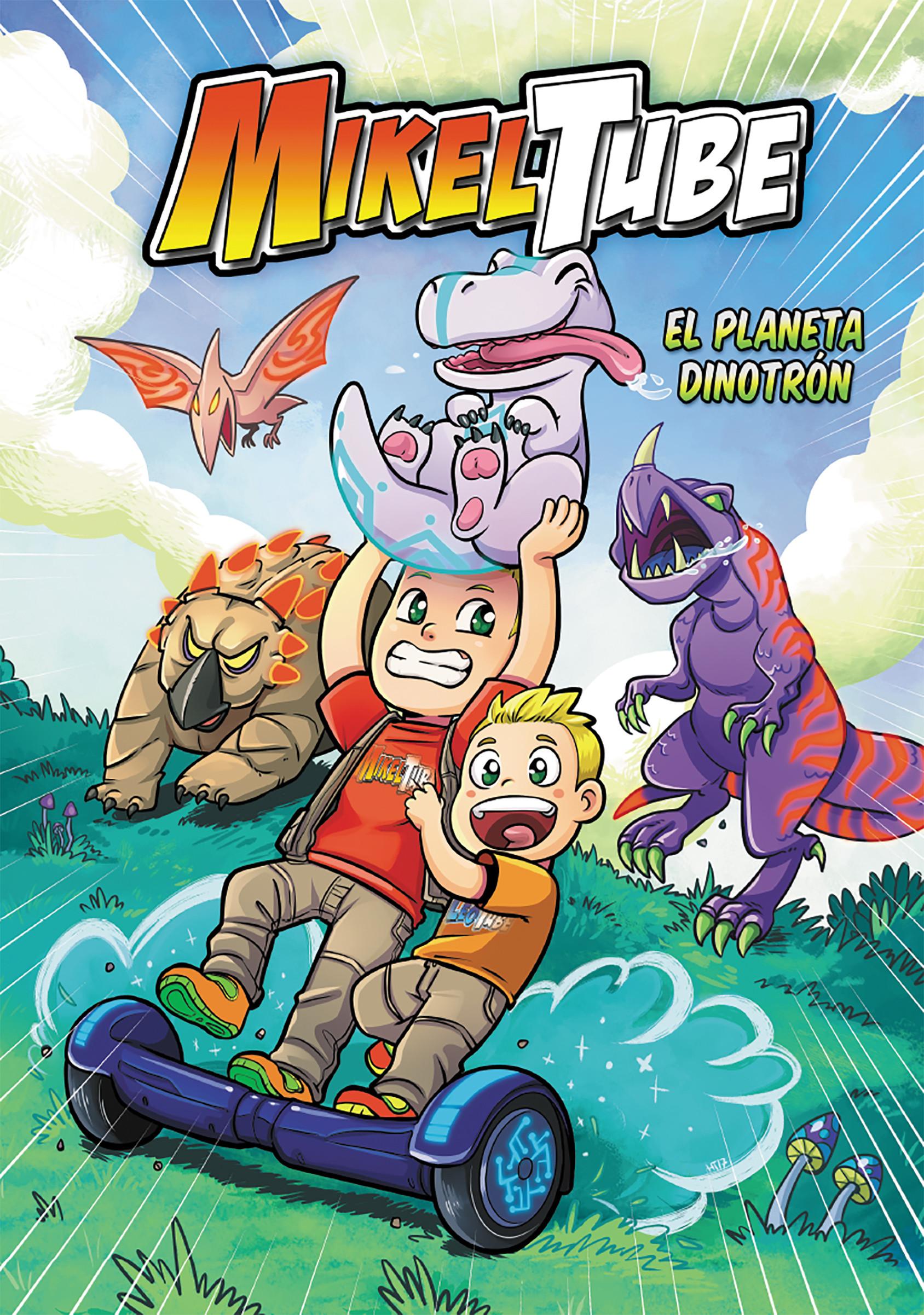 El planeta Dinodrón (MikelTube)