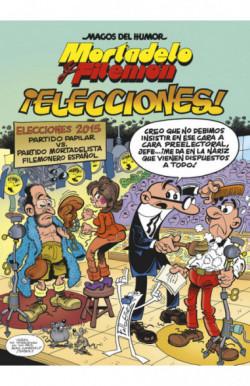 Mortadelo y Filemón. ¡Elecciones! (Magos del Humor 179)