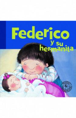 Federico y su hermanita