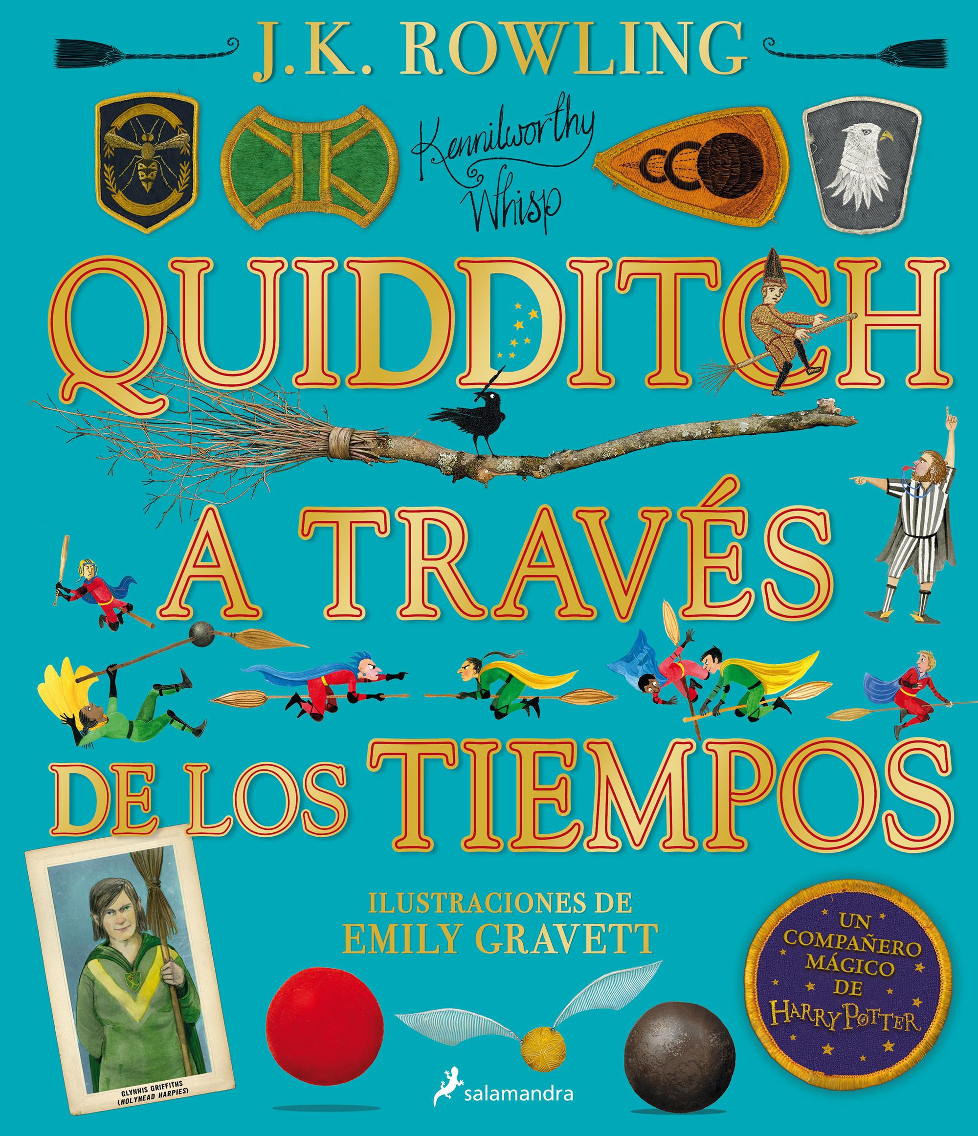 Quidditch a través de los tiempos (Un libro de la biblioteca de Hogwarts edición ilustrada)