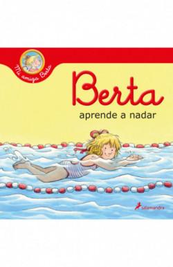Berta aprende a nadar