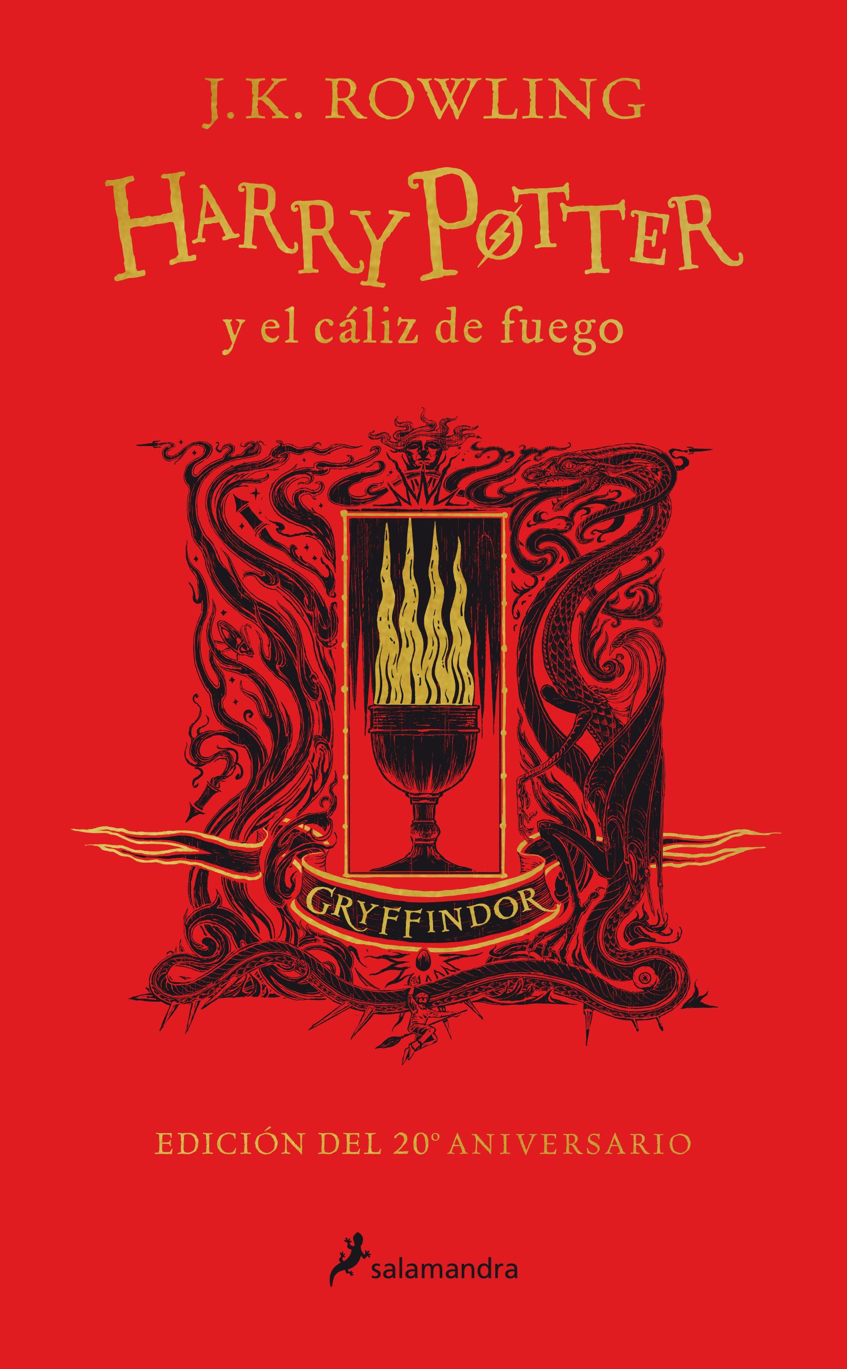 Harry Potter y el cáliz de fuego (edición Gryffindor de 20º aniversario) (Harry Potter 4)