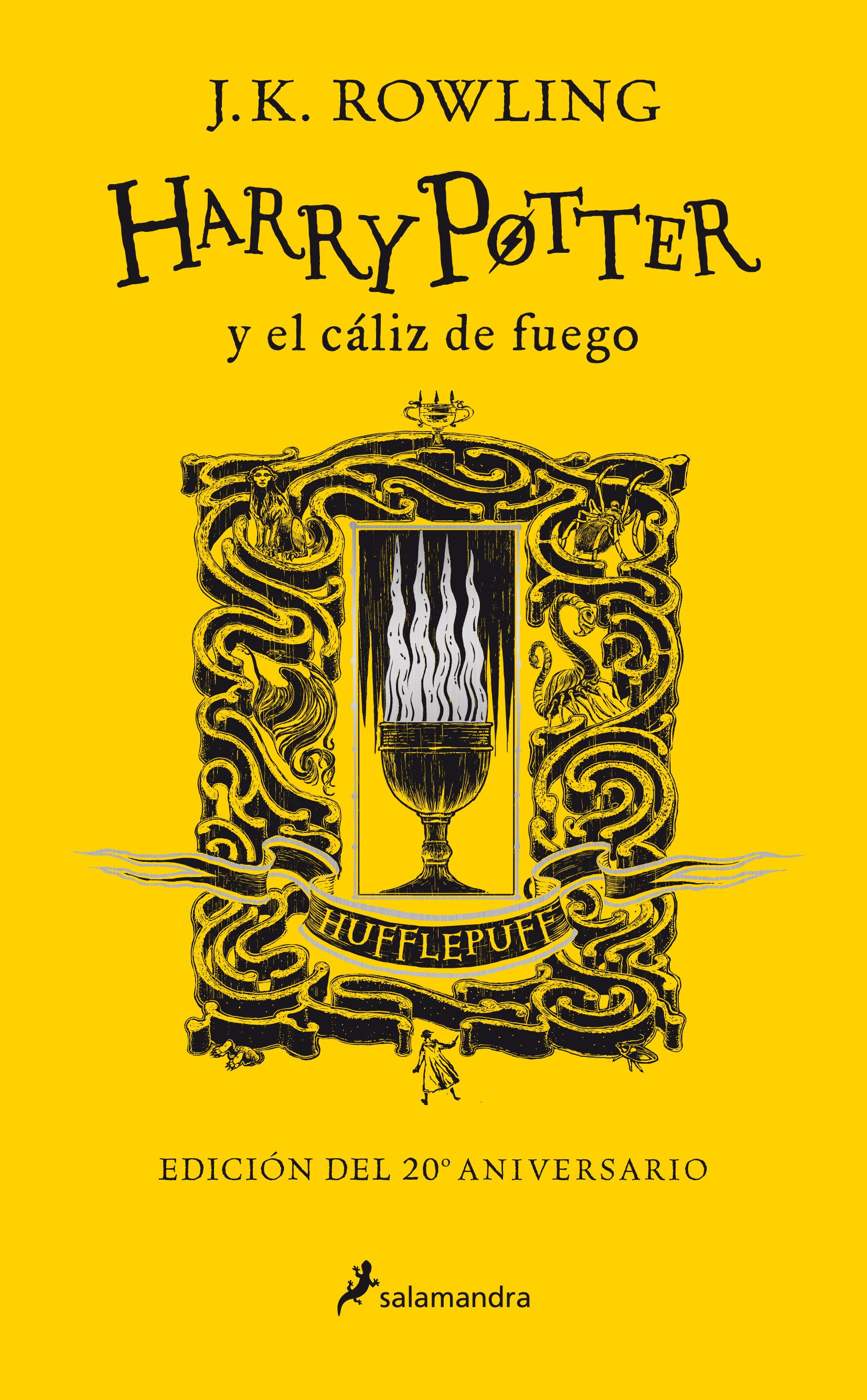 Harry Potter y el cáliz de fuego (edición Hufflepuff del 20º aniversario) (Harry Potter 4)