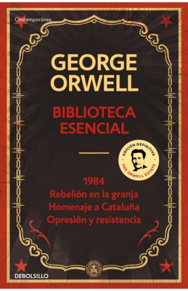 Biblioteca esencial George Orwell...