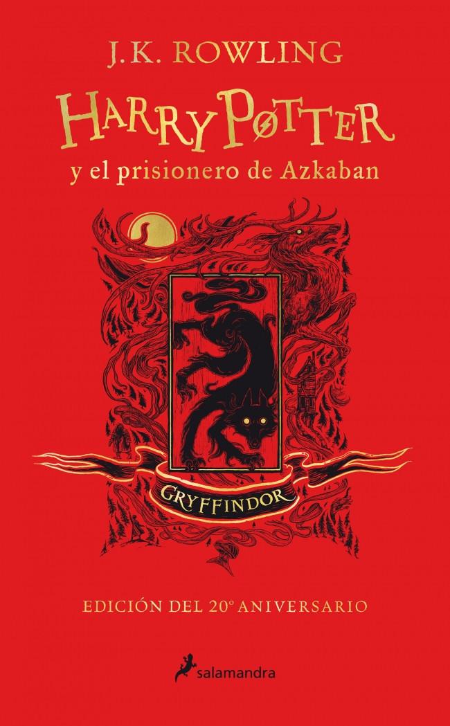 Harry Potter y el prisionero de Azkaban (edición Gryffindor del 20º aniversario) (Harry Potter 3)
