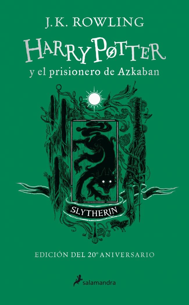 Harry Potter y el prisionero de Azkaban (edición Slytherin del 20º aniversario) (Harry Potter 3)