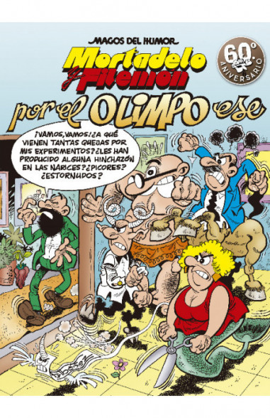 Mortadelo y Filemón. Por el Olimpo...