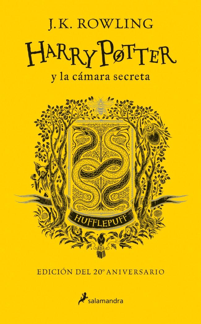 Harry Potter y la cámara secreta (edición Hufflepuff del 20º aniversario) (Harry Potter 2)