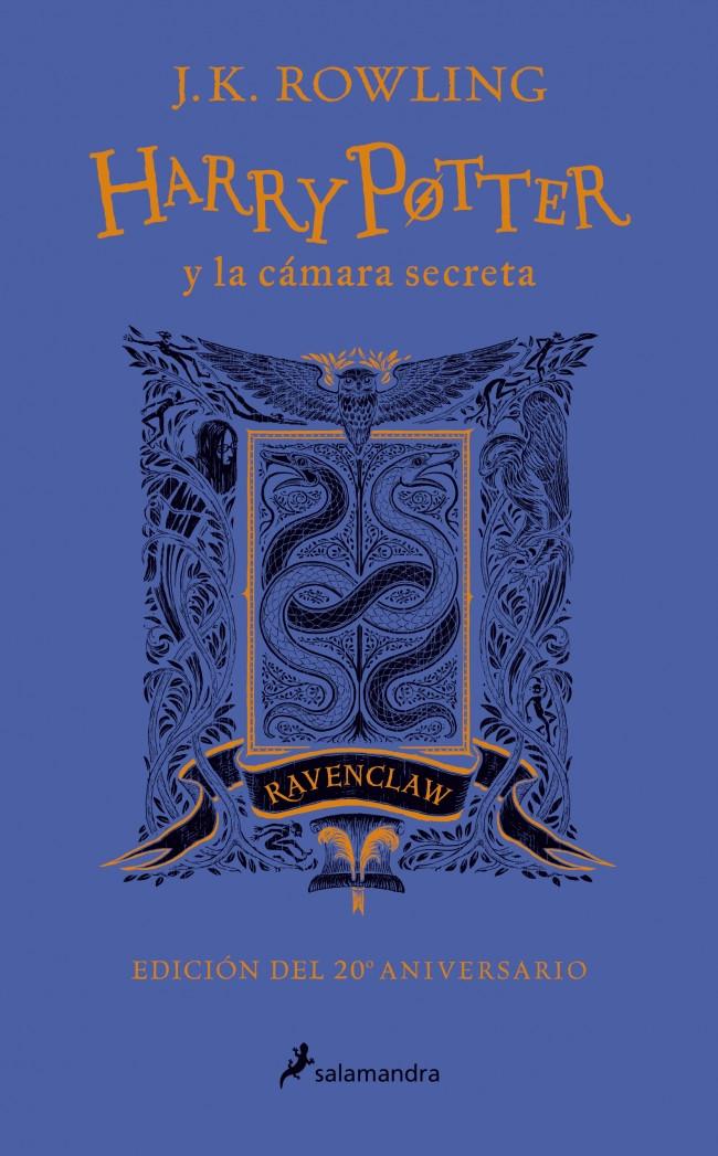 Harry Potter y la cámara secreta (edición Ravenclaw del 20º aniversario) (Harry Potter 2)