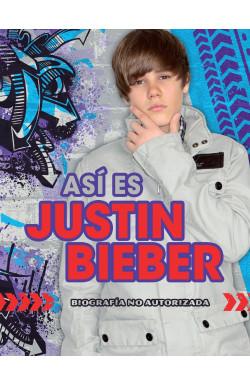 Así es Justin Bieber