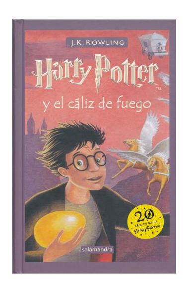 Harry Potter y el cáliz de fuego...