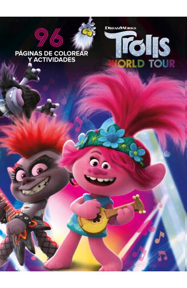Trolls world tour - Libro de colorear y actividades