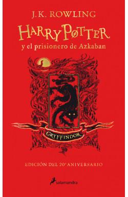 Harry Potter y el prisionero de Azkaban (edición Gryffindor del 20° aniversario) Harry Potter 3
