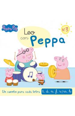 Leo con Peppa 3. Un cuento...