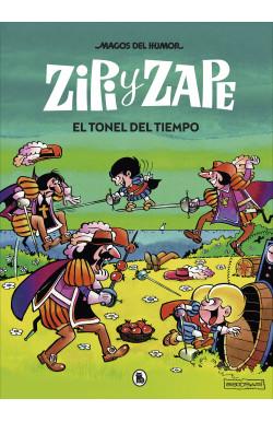 Zipi y Zape. El tonel del tiempo (Magos del Humor 14)