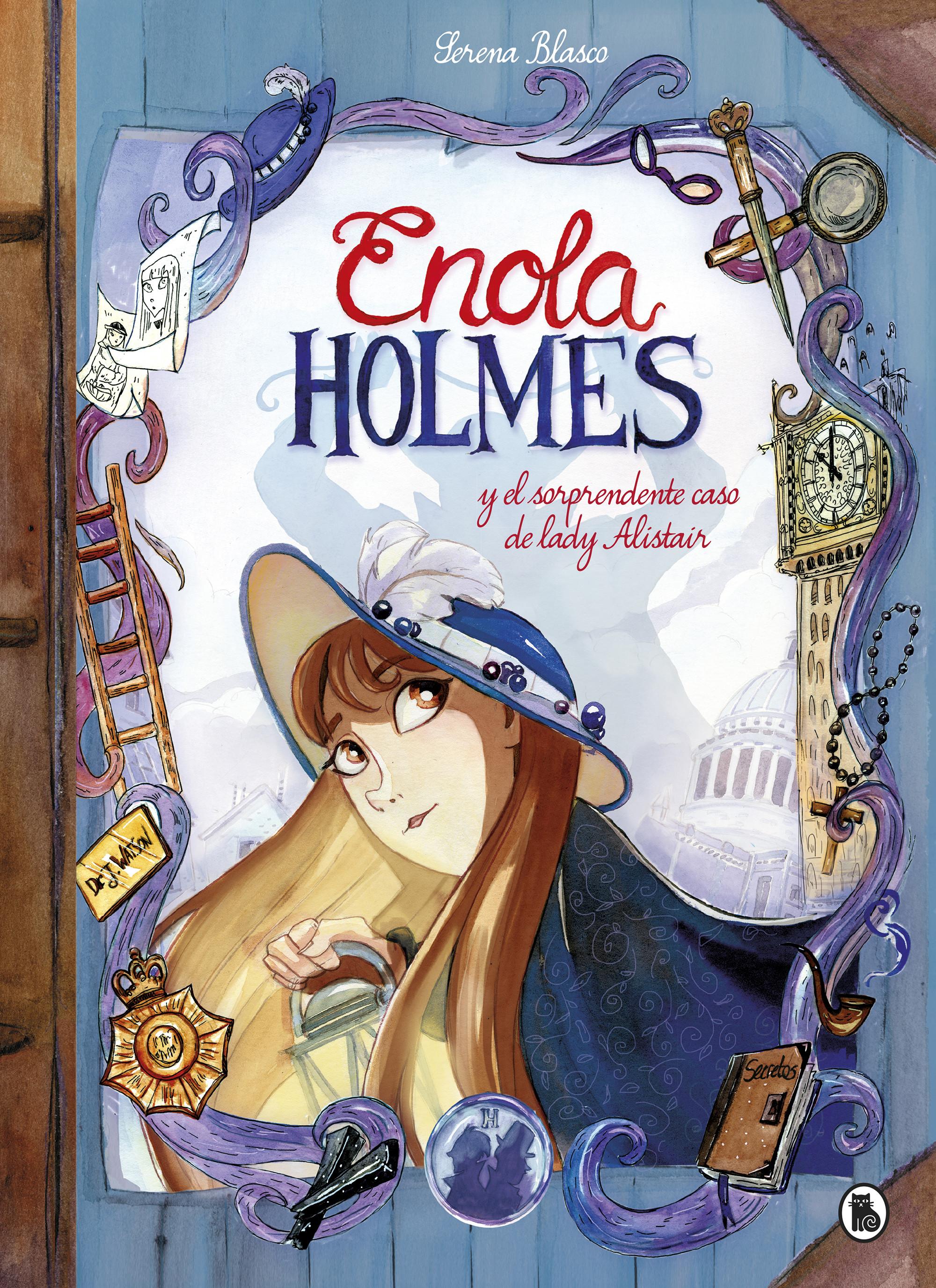Enola Holmes y el sorprendente caso de Lady Alistair (Enola Holmes. La novela gráfica 2)