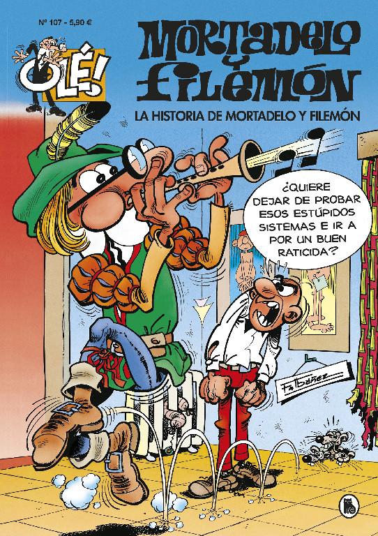 La historia de Mortadelo y Filemón (Olé! Mortadelo 107)