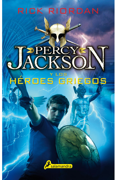 Percy Jackson y los héroes griegos...