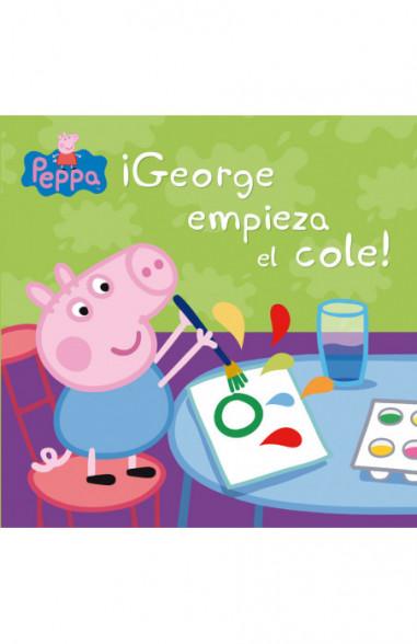 ¡George empieza el cole! (Un cuento...