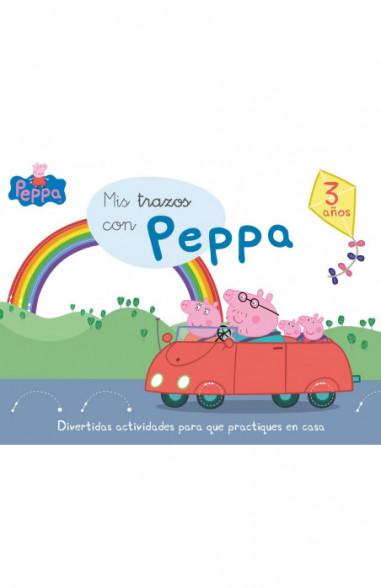 Mis trazos con Peppa - 3 años...