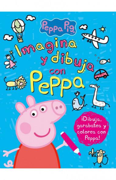 Imagina y dibuja con Peppa (Peppa...