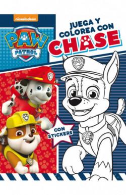 Juega y colorea con Chase (Paw Patrol | Patrulla Canina. Actividades)
