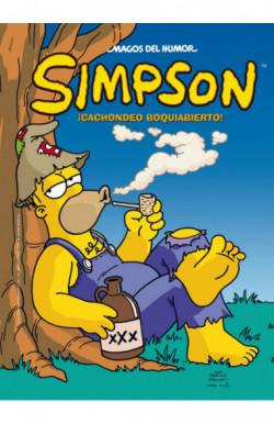 Cachondeo boquiabierto (Magos del Humor Simpson 46)