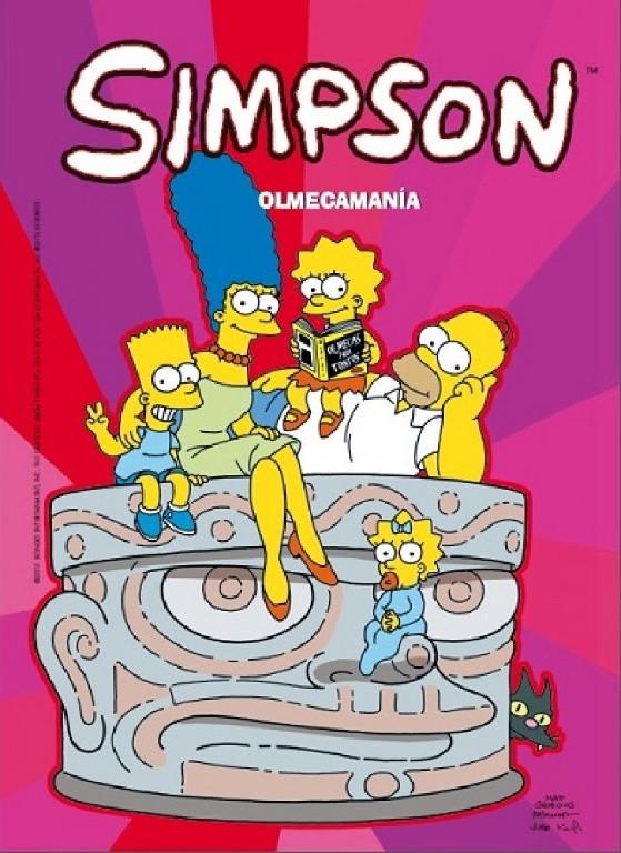Olmecamanía (Magos del Humor Simpson 47)
