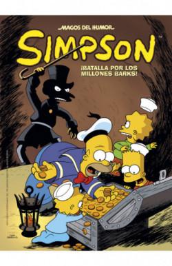 ¡Batalla por los millones Barks! (Magos del Humor Simpson 50)