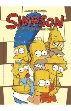 ¡Duffman quiere oíros! (Magos del Humor Simpson 52)