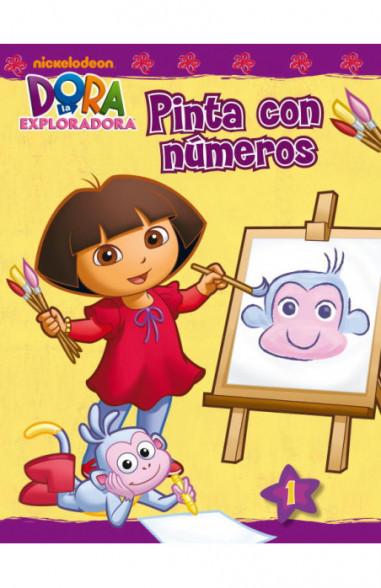 Pinta con números (Dora la...
