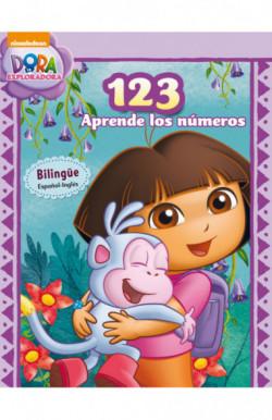 123. Aprende los números (Dora la exploradora) (Dora la exploradora. Actividades)