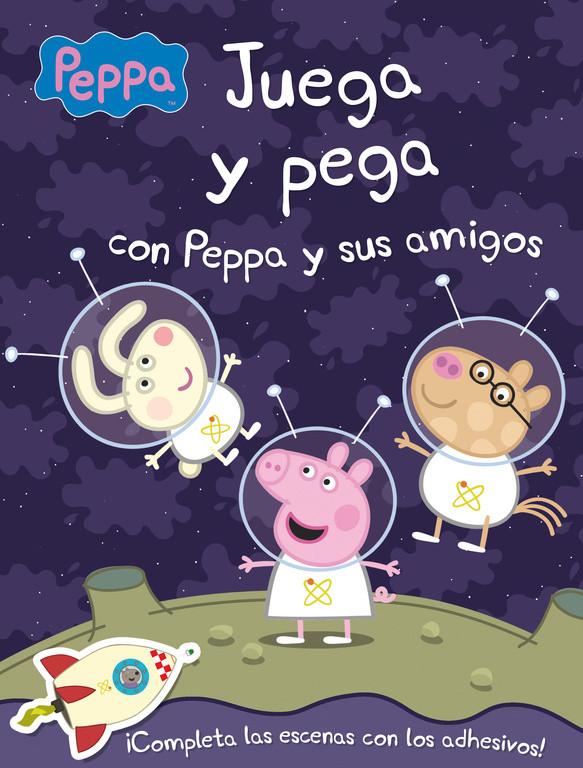 Juega y pega con Peppa y sus amigos (Peppa Pig. Actividades)