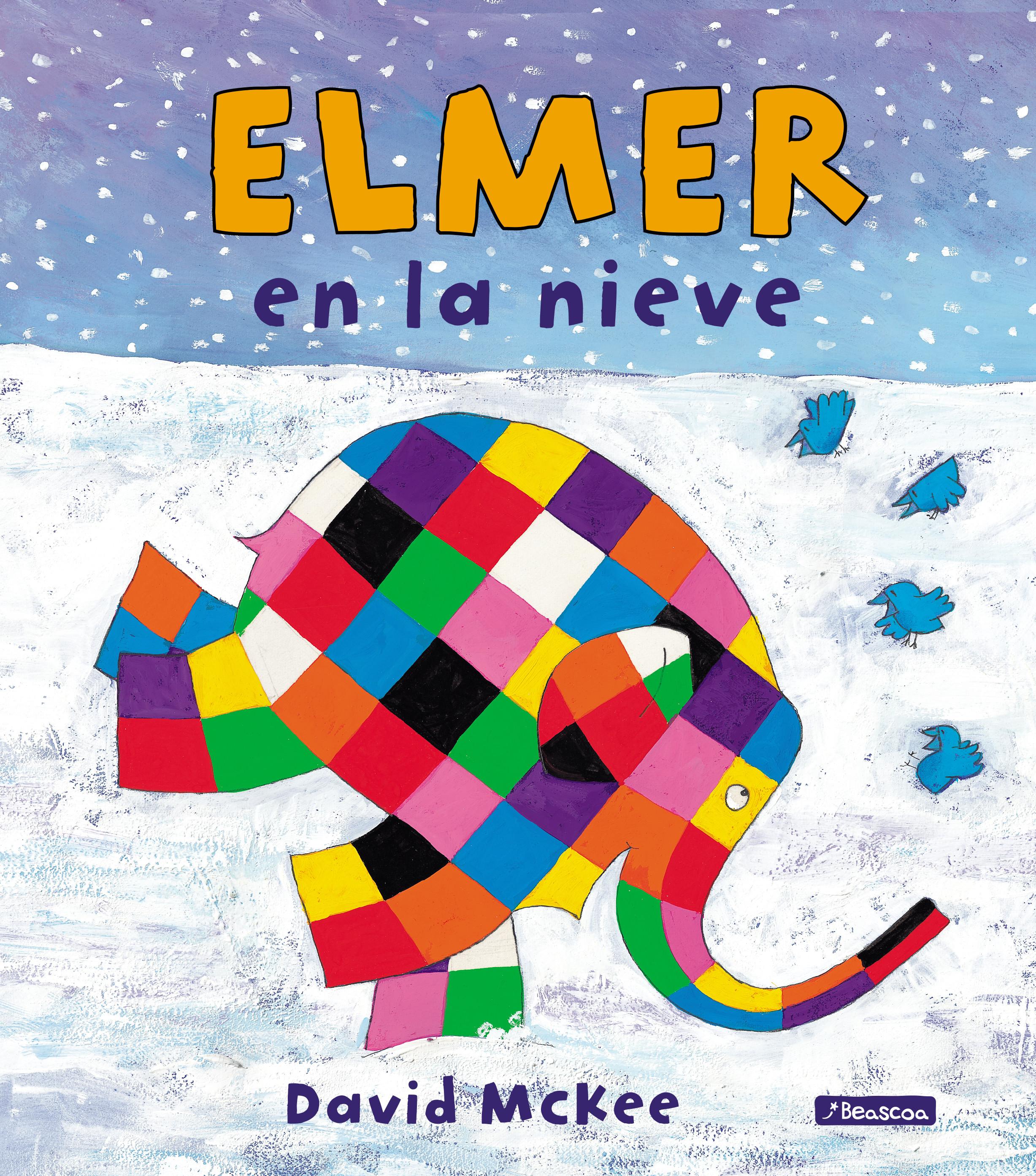 Elmer en la nieve (Elmer. Álbum ilustrado)