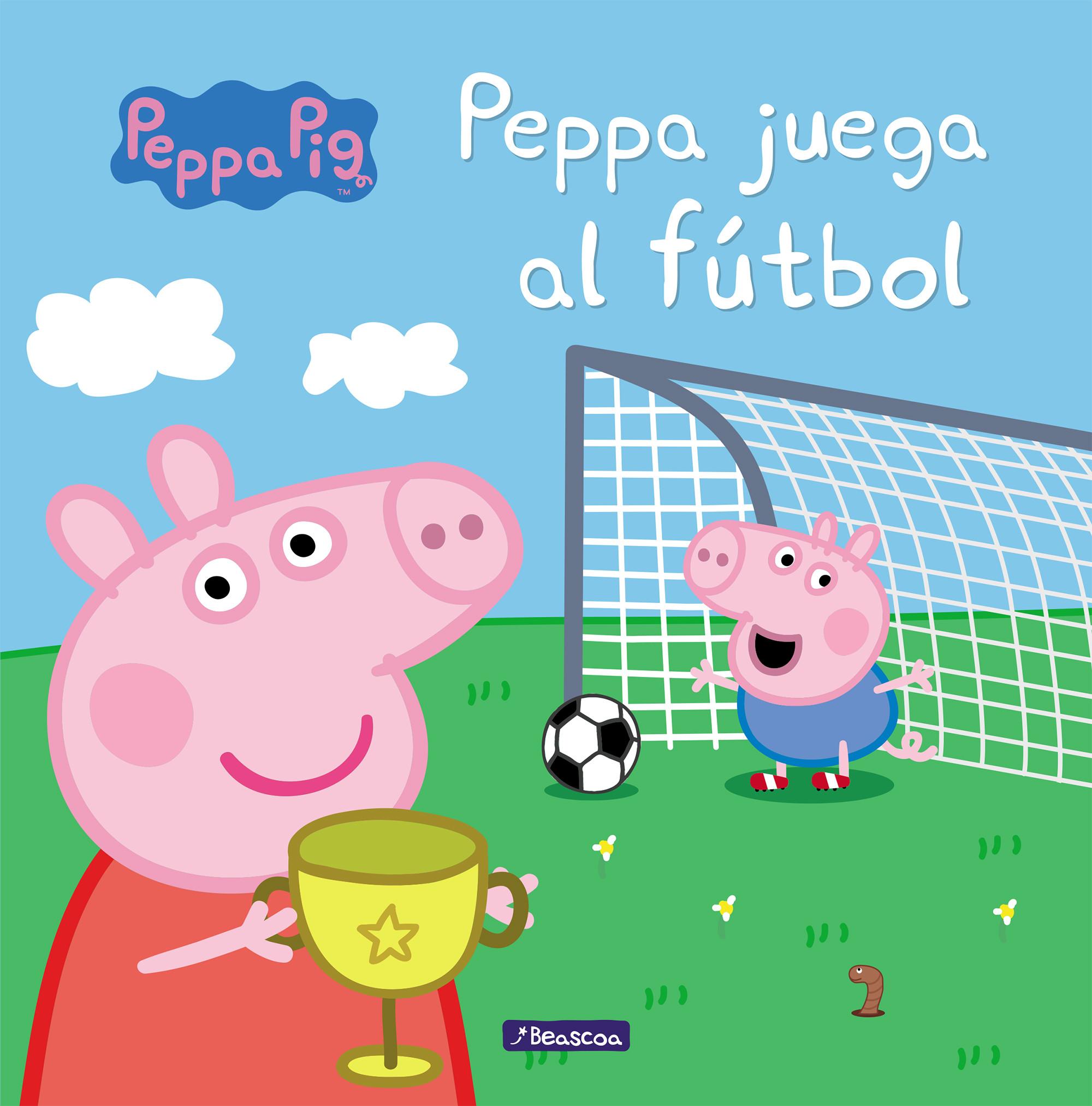 Peppa juega al fútbol (Un cuento de Peppa Pig)