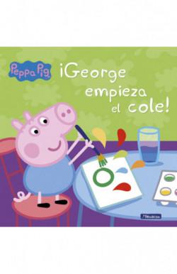 ¡George empieza el cole!...