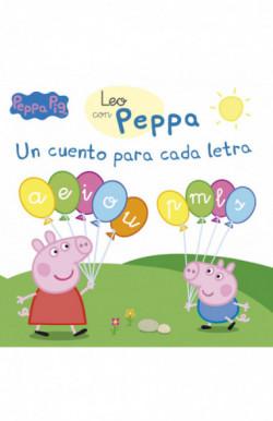 Un cuento para cada letra: a, e, i, o, u, p, m, l, s (Leo con Peppa Pig)