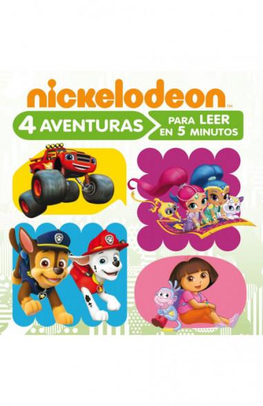 4 aventuras Nickelodeon para leer en...