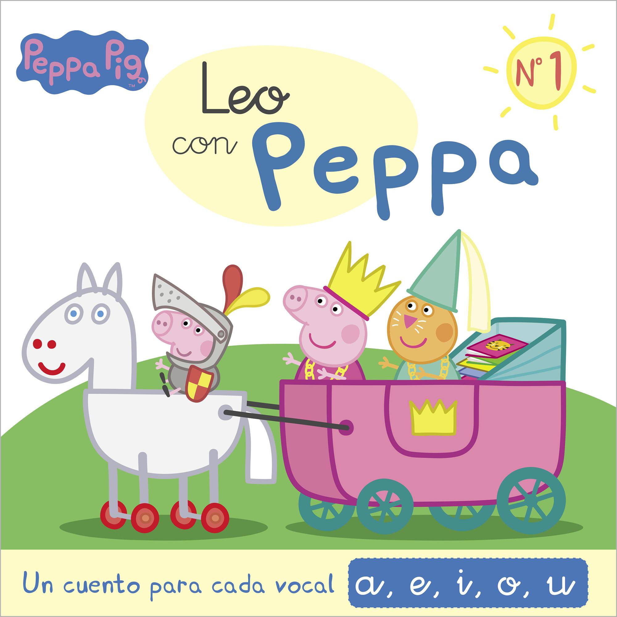 Un cuento para cada vocal: a, e, i, o, u (Leo con Peppa Pig 1)