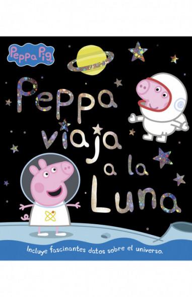 Peppa viaja a la luna (Un cuento de...