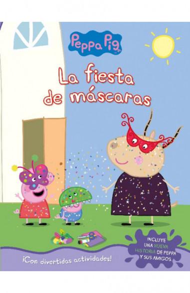 La fiesta de máscaras (Peppa Pig....