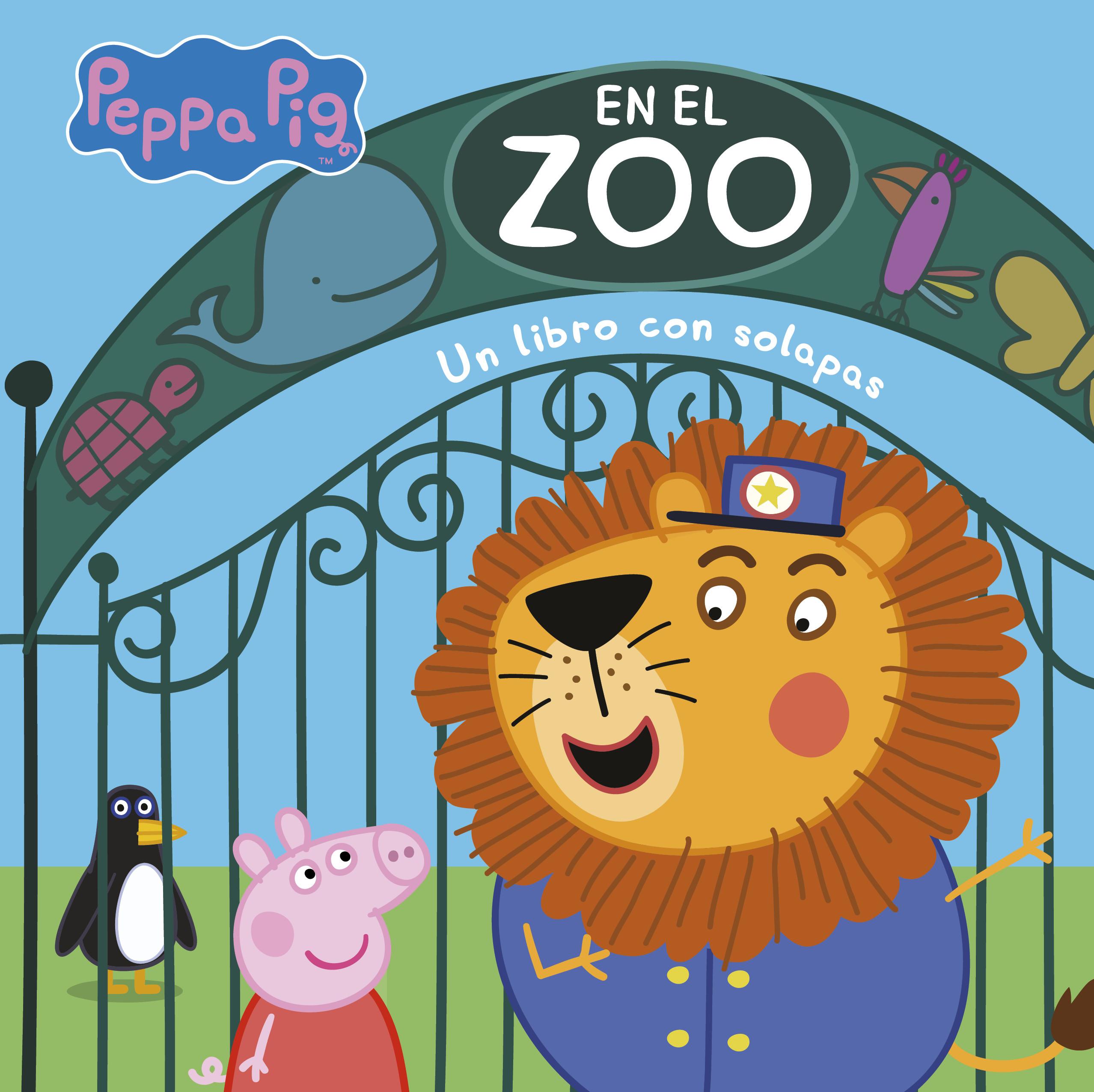 En el zoo (Peppa Pig. Pequeñas manitas)
