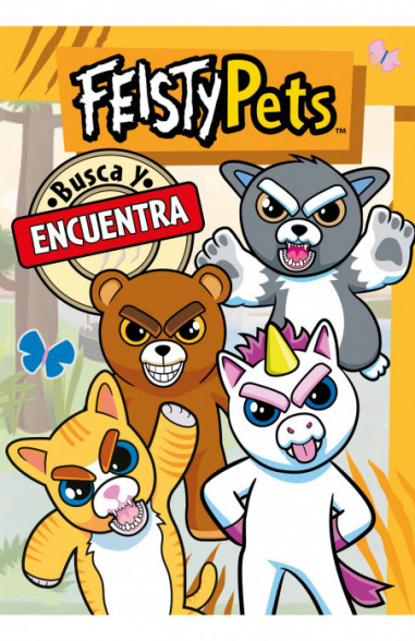Busca y encuentra (Feisty Pets)