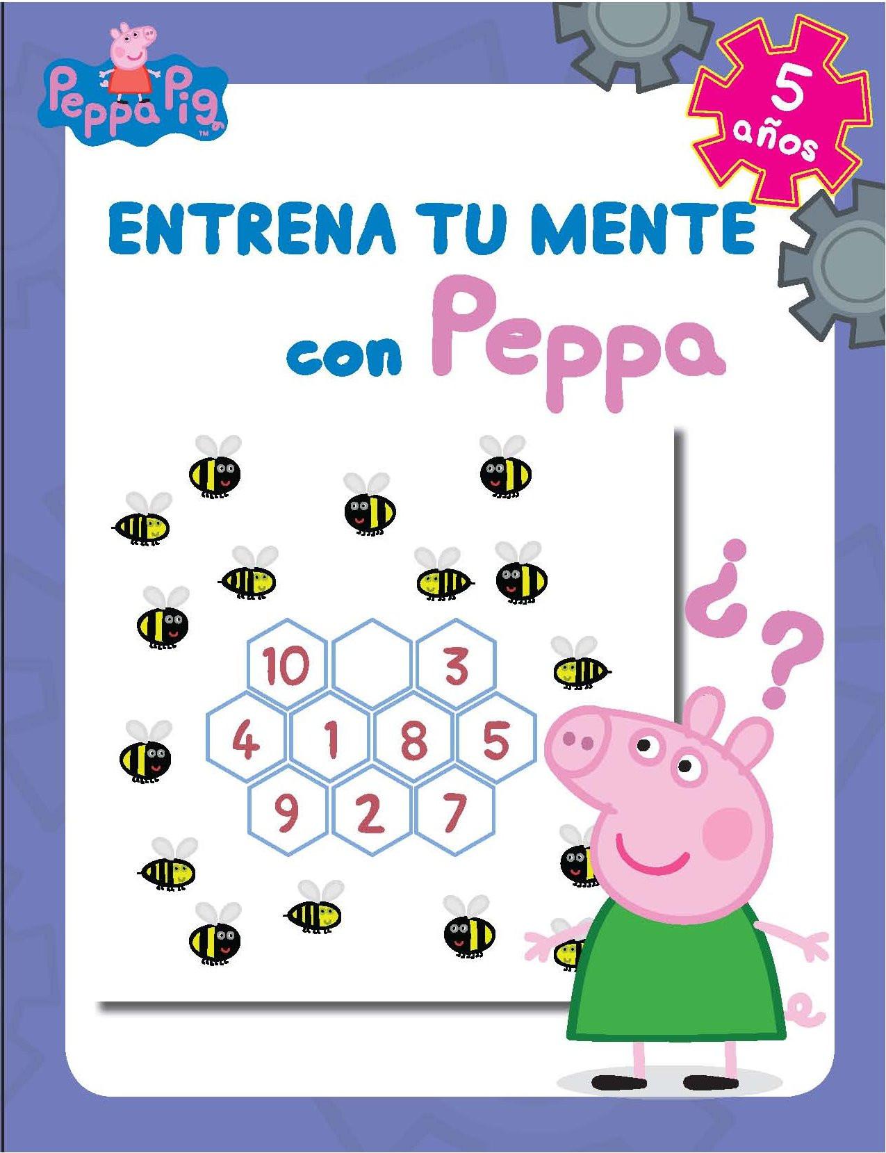 Entrena tu mente con Peppa. 5 años (Peppa Pig. Cuaderno de actividades)