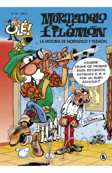 La historia de Mortadelo y Filemón...