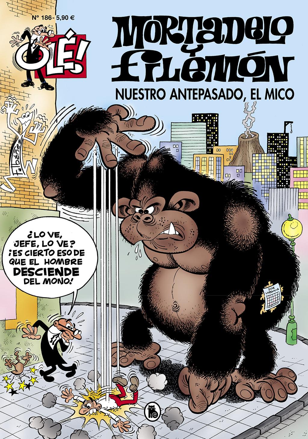 Nuestro antepasado, el mico (Olé! Mortadelo 186)